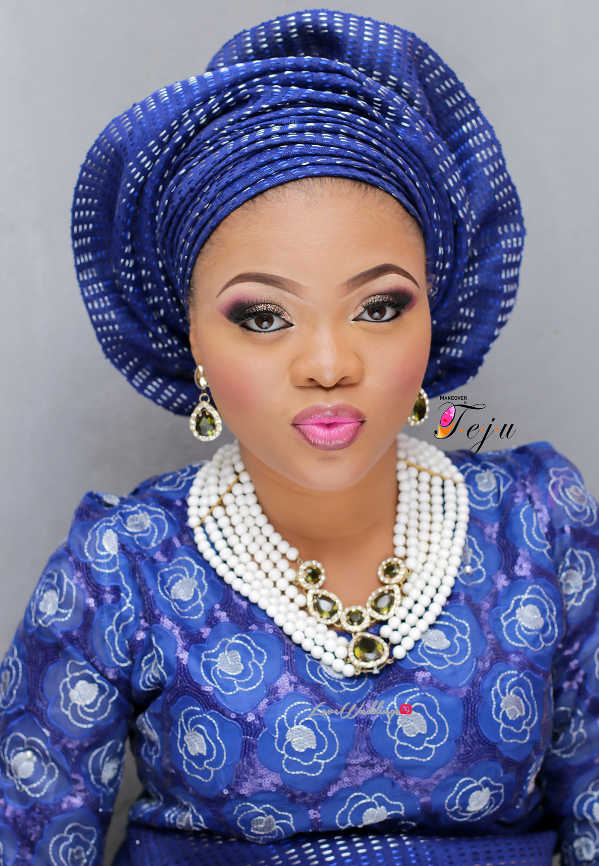 Nigerian Bridal Makeup Inspiration Makeover by Teju - LoveweddingsNG