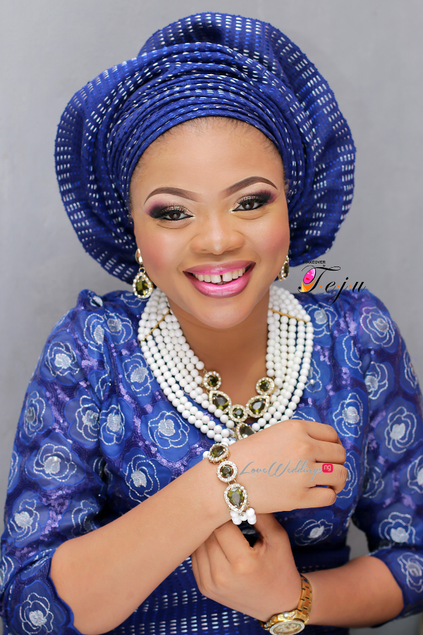Nigerian Bridal Makeup Inspiration Makeover by Teju - LoveweddingsNG2