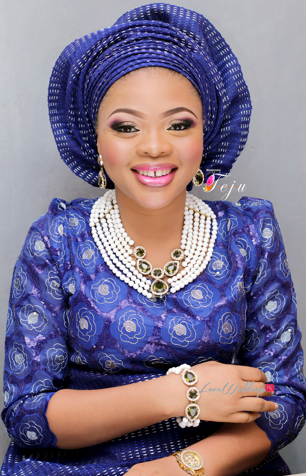 Nigerian Bridal Makeup Inspiration Makeover by Teju - LoveweddingsNG5