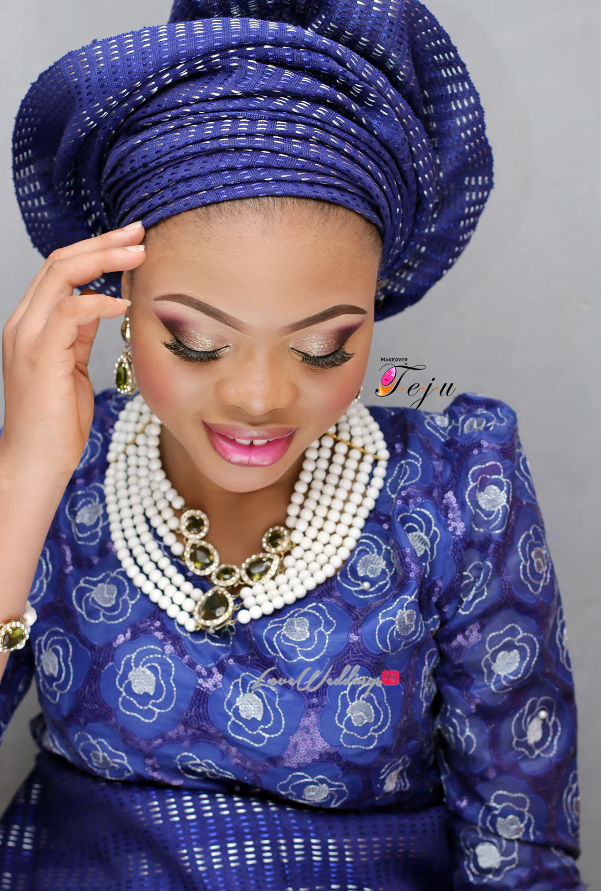 Nigerian Bridal Makeup Inspiration Makeover by Teju - LoveweddingsNG6