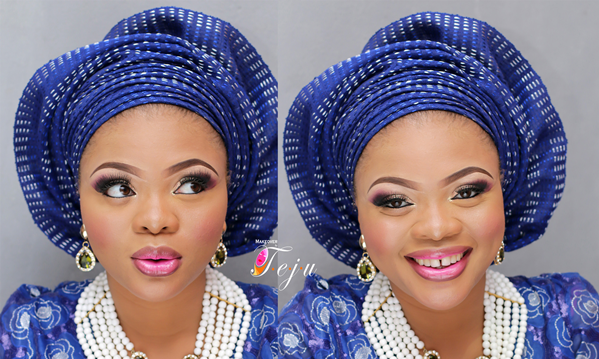 Nigerian Bridal Makeup Inspiration Makeover by Teju - LoveweddingsNG8