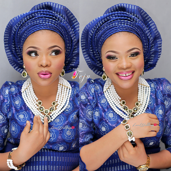 Nigerian Bridal Makeup Inspiration Makeover by Teju - LoveweddingsNG9