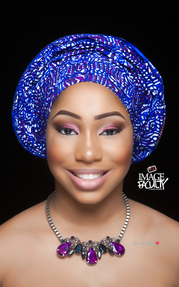 Nigerian Traditional Makeup - Image Faculty LoveweddingsNG1