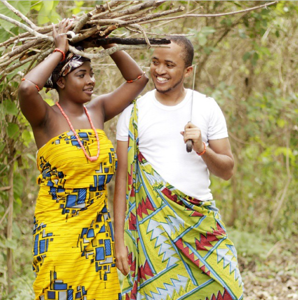 Nigerian Tribal Prewedding Shoot - LoveweddingsNG