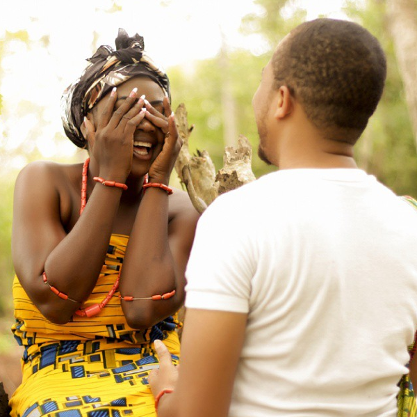 Nigerian Tribal Prewedding Shoot - LoveweddingsNG2