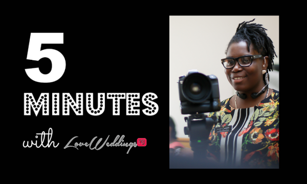 5 minutes with Christiana Andrews LoveweddingsNG