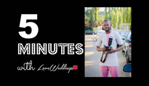 5 minutes with Godwin Oisi Photography LoveweddingsNG