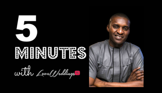 5 minutes with Kenneth Okolie Photography LoveweddingsNG1