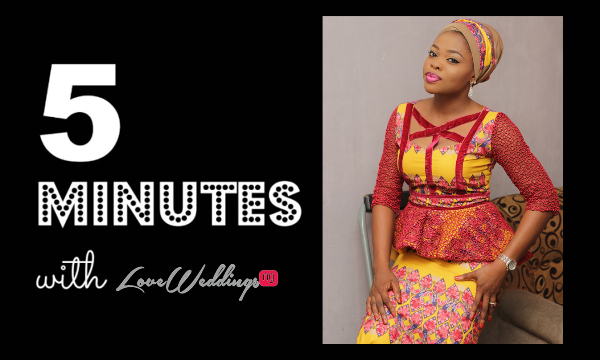 5 minutes with Makeover by Teju LoveweddingsNG