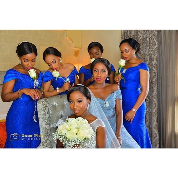 Adanma Ohakim and Amaha White Wedding LoveweddingsNG8
