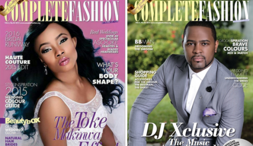 Complete Fashion - Toke Makinwa DJ Xclusive LoveweddingsNG