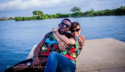 DJ TTB weds Gwen Nebedum Prewedding LoveweddingsNG1