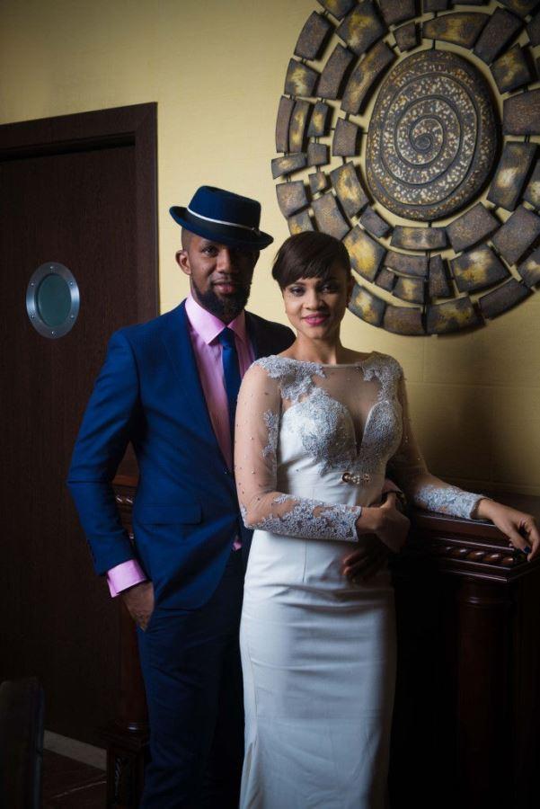DJ TTB weds Gwen Nebedum Prewedding LoveweddingsNG11