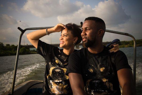 DJ TTB weds Gwen Nebedum Prewedding LoveweddingsNG1