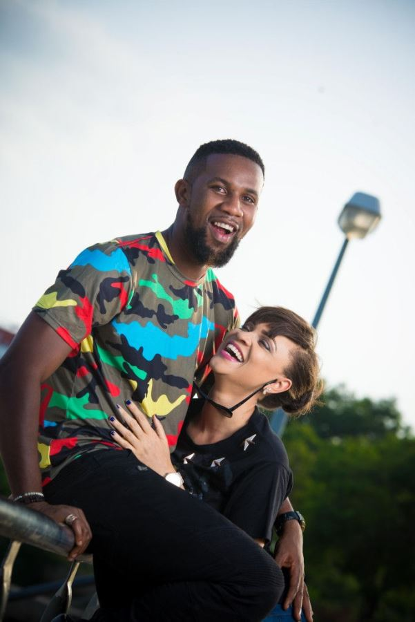 DJ TTB weds Gwen Nebedum Prewedding LoveweddingsNG3
