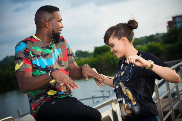 DJ TTB weds Gwen Nebedum Prewedding LoveweddingsNG4