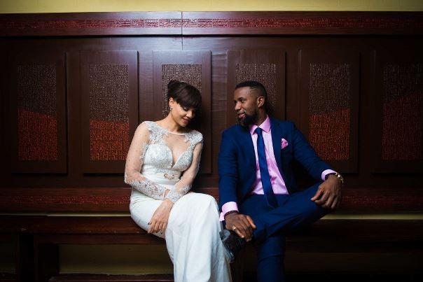 DJ TTB weds Gwen Nebedum Prewedding LoveweddingsNG8