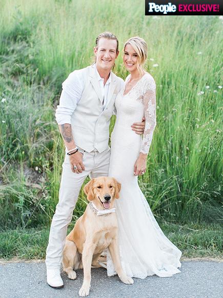 Florida  Georgia Line Singer - Tyler Hubbard weds Hayley Stommel LoveweddingsNG3