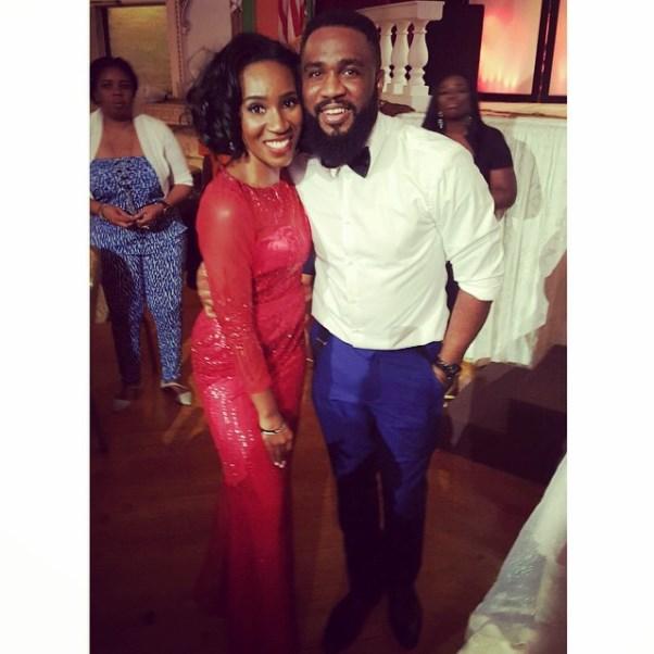 Gbenro Ajibade Osas Ighodaro White Wedding LoveweddingsNG - Eunice Omole, Praiz Adejo