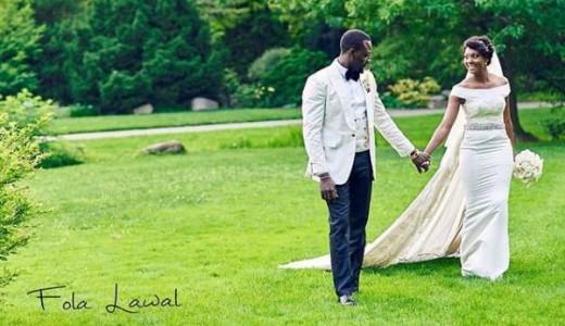 Gbenro Ajibade Osas Ighodaro White Wedding LoveweddingsNG21