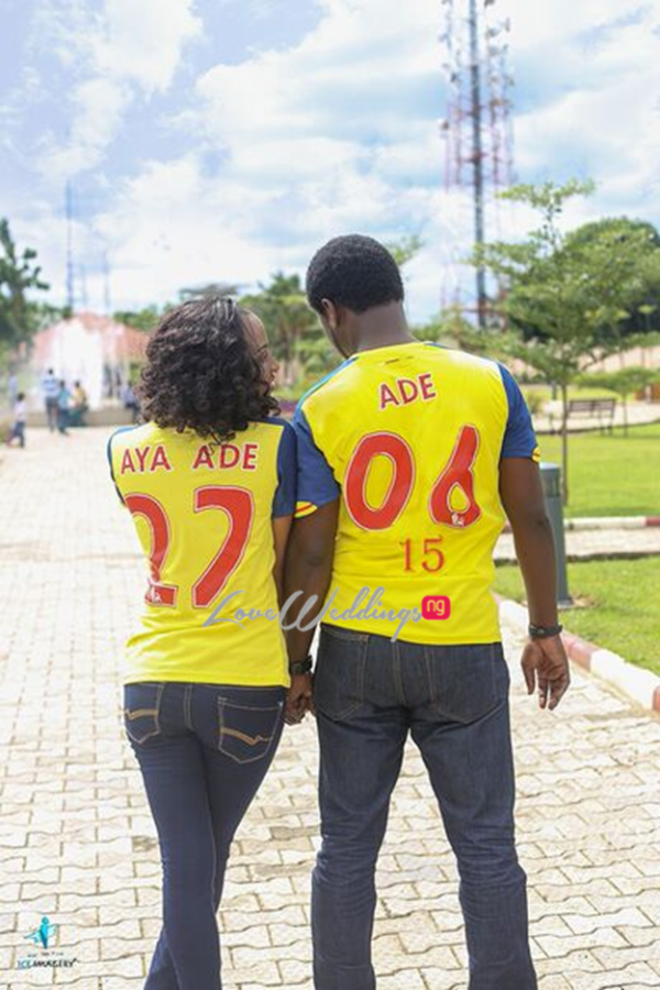 LoveweddingsNG Ade & Ene Prewedding Ice Imagery