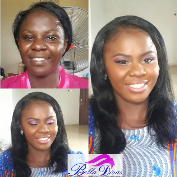 LoveweddingsNG Before and After - BelladivasWarri