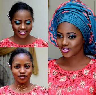 LoveweddingsNG Before and After - Debelle Makeovers1