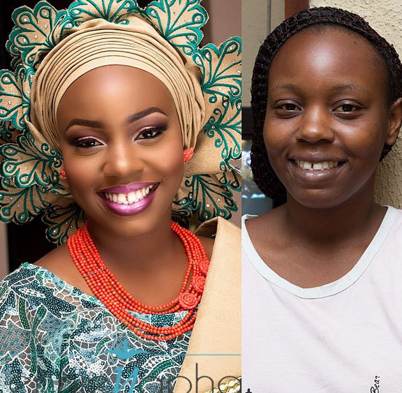 LoveweddingsNG Before and After Ennieyapha1