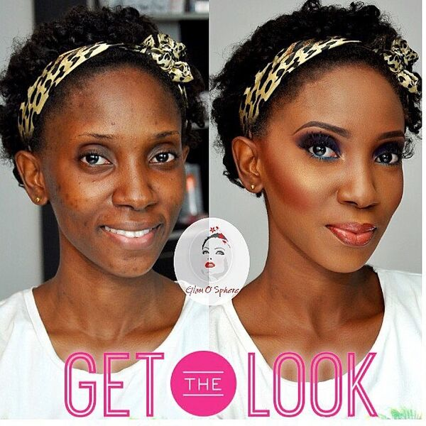 LoveweddingsNG Before and After - Glam O Sphere