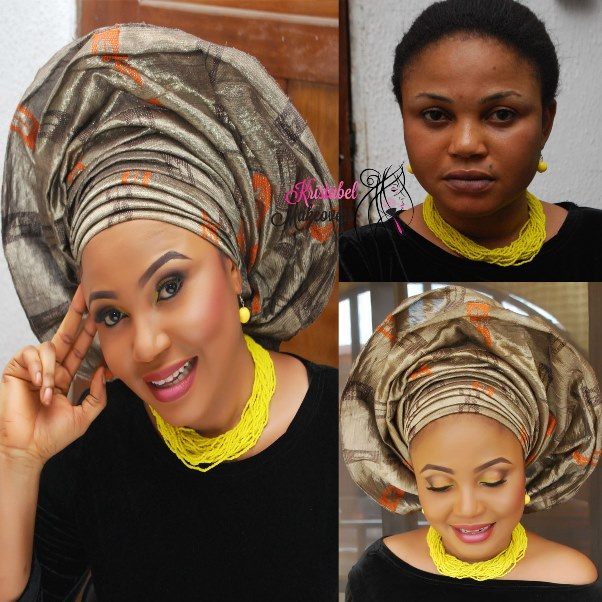 LoveweddingsNG Before and After Kristabel Makeovers