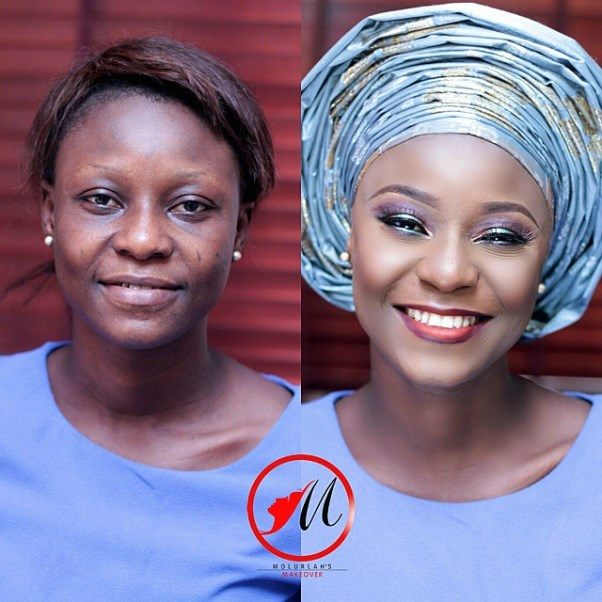 LoveweddingsNG Before and After Molurlahs Makeover