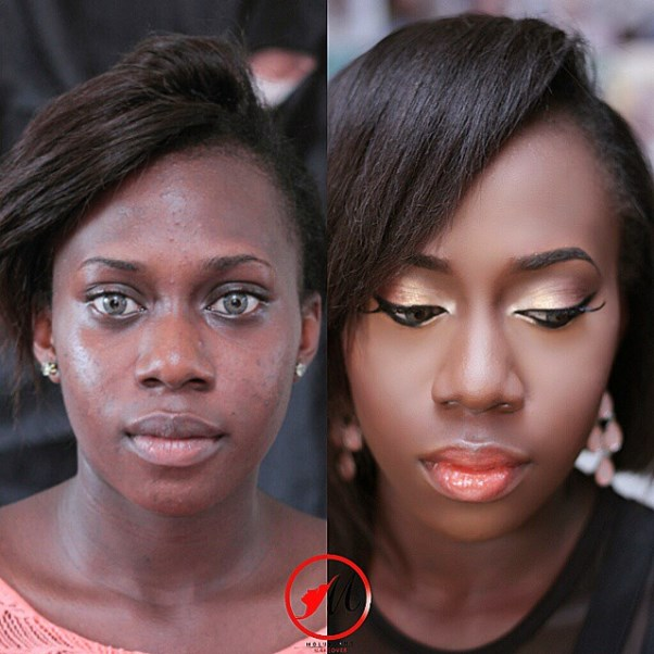 LoveweddingsNG Before and After Molurlahs Makeover1