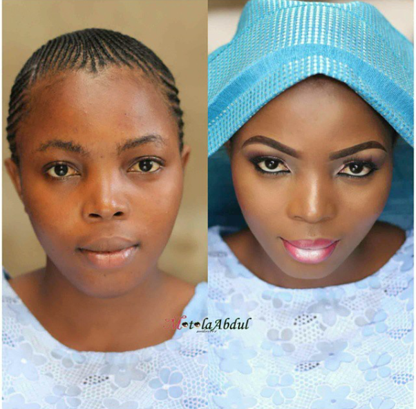 LoveweddingsNG Before and After - Motola Abdul
