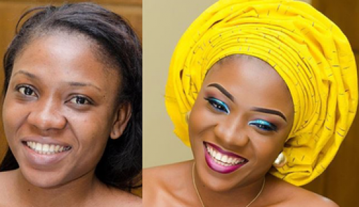 LoveweddingsNG Before and After - RTM Beauty & Makeup Studio1