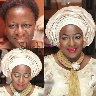 LoveweddingsNG Before and After - Slushlash Makeovers3