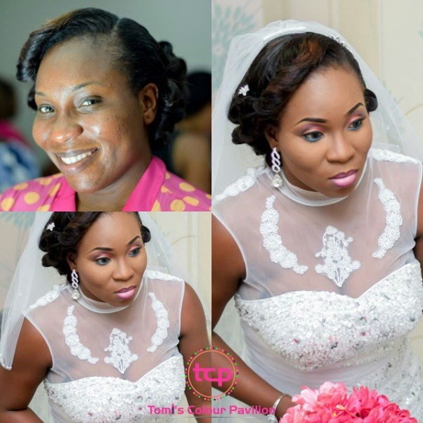 LoveweddingsNG Before and After Tomis Colour Pavilion