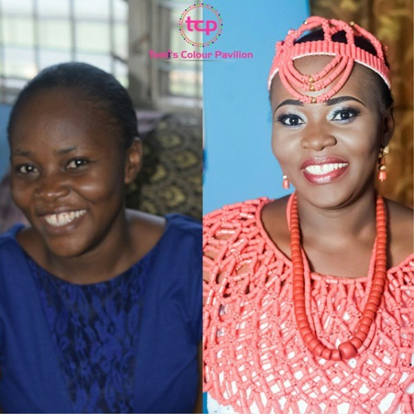 LoveweddingsNG Before and After Tomis Colour Pavilion1