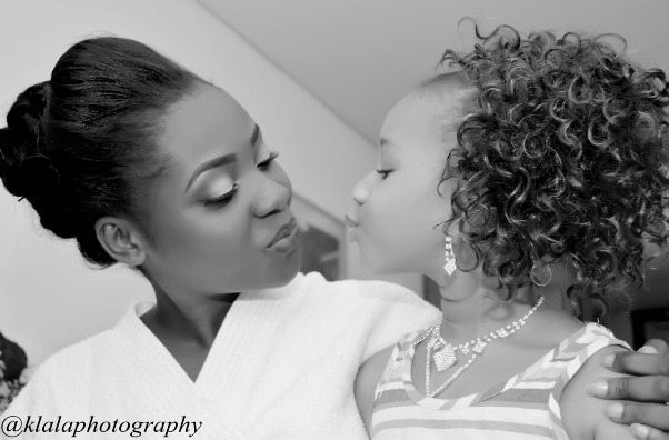 LoveweddingsNG Bride and Little Bride - Klala Photogtraphy