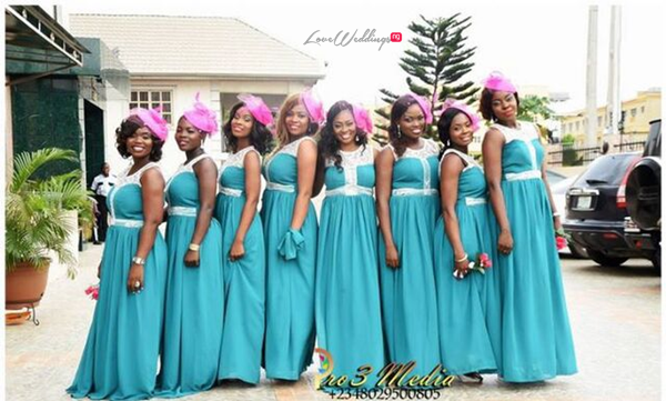 LoveweddingsNG Funmi and Ovie White Wedding