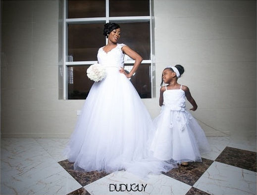 LoveweddingsNG Little Ones Bridal Train Dudu Guy