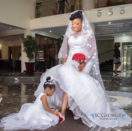 LoveweddingsNG Little Ones Bridal Train SC George