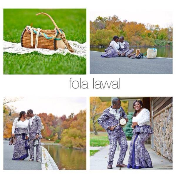LoveweddingsNG Traditional Prewedding Shoot Fola Lawal