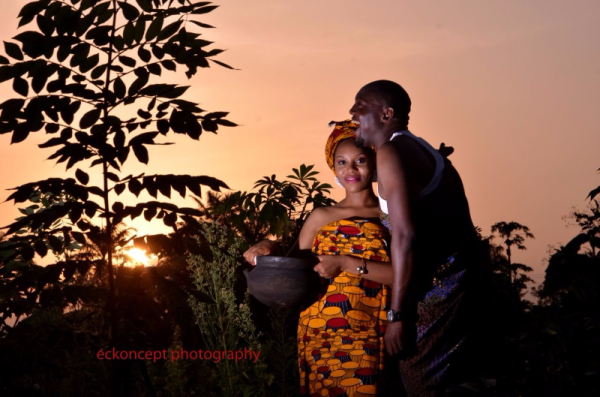 LoveweddingsNG Traditional Prewedding Shoot Nata and Kelly