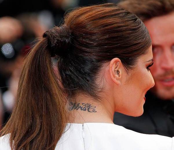 Loveweddingsng Tattoo - Cheryl Cole Mrs C