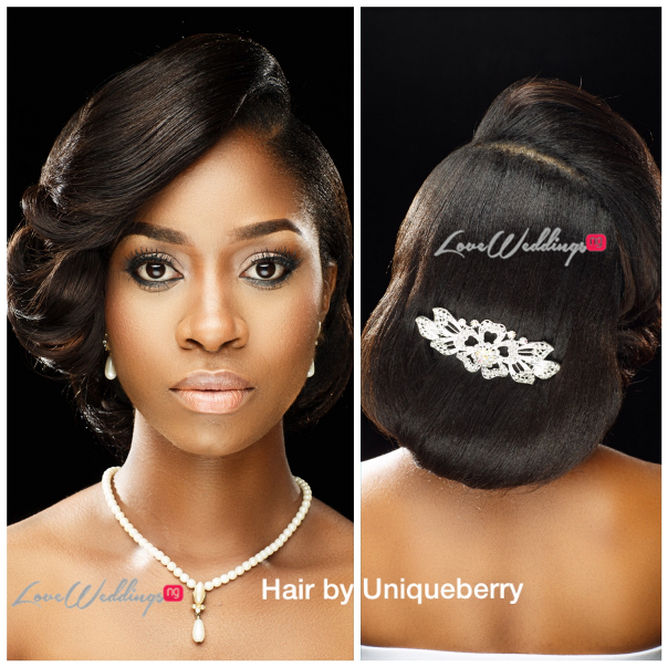 Nigerian Bridal Hair Inspiration Uniqueberry Hair - LoveweddingsNG4