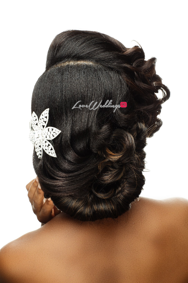 Nigerian Bridal Hair Inspiration Uniqueberry Hair - LoveweddingsNG7