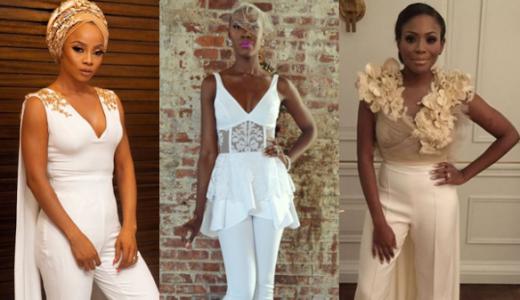 Nigerian Bridal Jumpsuit LoveWeddingsNG