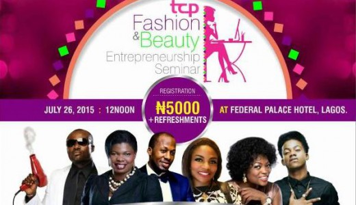 Tomi's Colour Pavilion Fashion and Beauty Entreprenuership Seminar LoveweddingsNG feat