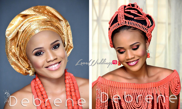Traditional Bridal Inspiration - Debrene LoveweddingsNG feat