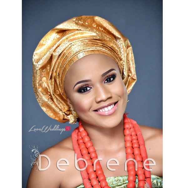 Traditional Bridal Inspiration - Debrene LoveweddingsNG1